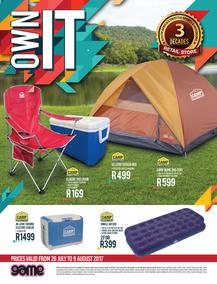 Game : Outdoor Catalogue (26 July - 9 August 2017), page 1