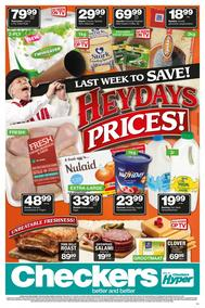 Checkers Western Cape : Heydays Prices (19 Feb - 25 Feb 2018), page 1