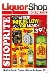 Shoprite Western Cape : Liquor Shop (19 Feb - 04 Mar 2018), page 1
