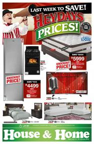 House & Home : Heydays Prices (19 Feb - 25 Feb 2018), page 1