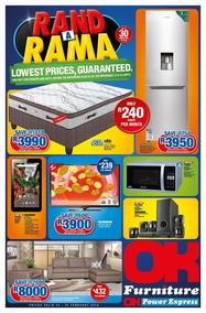 OK Furniture : Rand A Rama (20 Feb - 25 Feb 2018), page 1