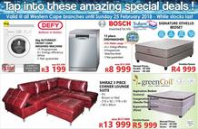 Tafelberg Furnishers Western Cape : Amazing Special Deals (20 Feb - 25 Feb 2018), page 1