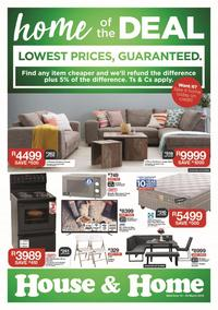 House & Home : Lowest Prices, Guaranteed (13 Mar - 25 Mar 2018), page 1