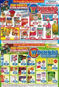 Winners Cash & Carry (14 Mar - 20 Mar 2018), page 1