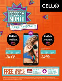Cell C (01 Apr - 30 Apr 2018), page 1
