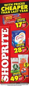 Shoprite : Cheaper Than Last Year (03 Apr - 22 Apr 2018), page 1