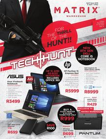 Matrix Warehouse Computers (06 Apr - 05 May 2018), page 1