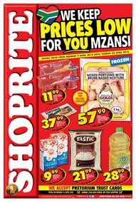 Shoprite : Prices Low (09 Apr - 22 Apr 2018), page 1