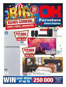 OK Furniture : Big Brands Carnival (10 Apr - 22 Apr 2018), page 1