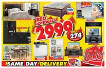 Lewis : Red Hot Deals! (15 Apr - 13 May 2018), page 1