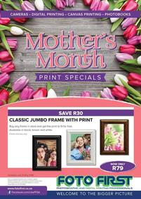 Foto First : Mothers Month (02 May - 31 May 2018), page 1