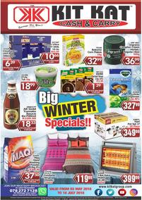 Kit Kat Cash Carry : Big Winter Specials (03 May - 18 Jul 2018), page 1