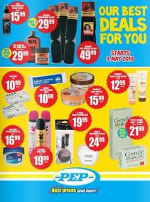 Pep : Our Best Deals For You (11 May - While Stock Last), page 1