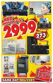 Lewis : Red Hot Deals (14 May - 17 Jun 2018), page 1