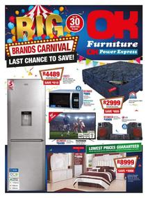 OK Furniture : Big Brand Carnival (23 May - 03 Jun 2018), page 1