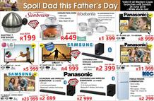 Tafelberg Furnishers Western Cape : Spoil Dad This Father's Day (18 Jun - While Stock Last), page 1