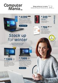 Computer Mania : Stock Up For Winter (01 Jul - 31 Jul 2018), page 1
