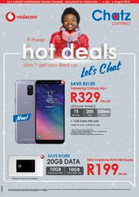 Chatz Connect : Hot Deals (06 Jul - 06 Aug 2018), page 1