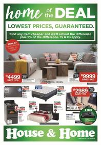 House & Home : Lowest Prices (10 Jul - 22 Jul 2018), page 1