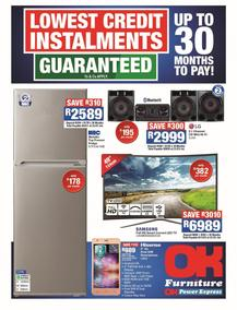 OK Furniture : Lowest Credit Installments (10 Jul - 22 Jul 2018) , page 1
