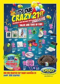 The Crazy Store : It's Our Crazy 21st Birthday (30 Jul - 02 Sep 2018), page 1