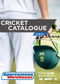Sportsmans Warehouse : Cricket Catalogue (11 Sep - While Stock Last), page 1