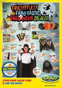The Crazy Store : Halloween Deals (15 Oct - 31 Oct 2018), page 1