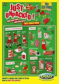 The Crazy Store : Just Unpacked! This Christmas (25 Oct - 25 Dec 2018), page 1