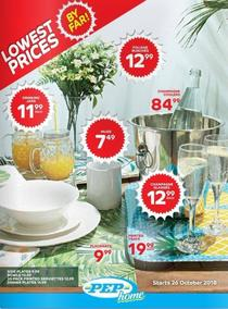 Pep Home : Low Prices (26 Oct - 22 Nov 2018), page 1
