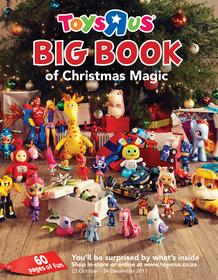 Toys R Us : Big Book Of Christmas Magic (23 Oct - 24 Dec 2017), page 1
