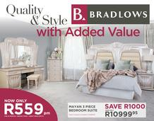 Bradlows : Quality And Style (23 Feb - 10 March 2017), page 1