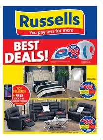 Russells : Best Deals (18 Apr - 20 May 2017), page 1