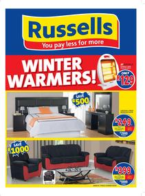 Russells : Winter Warmers (22 May - 17 June 2017), page 1