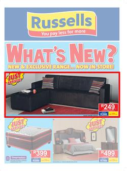 Russells : What's New? (22 July - 19 Aug 2017), page 1