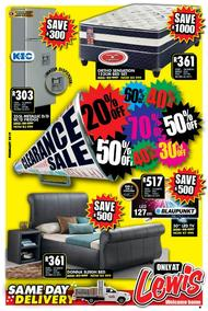 Lewis : Clearance Sale (25 Feb - 28 Apr 2019), page 1