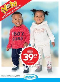 Pep : Kiddies Clothing (28 Feb - 28 Mar 2019), page 1