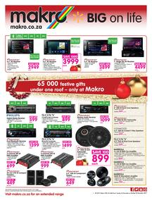 Makro : Car audio (26 Nov - 26 Dec 2017), page 1