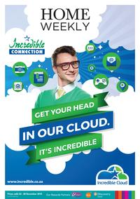 Incredible Connection : Get Your Head In Our Cloud (22 Nov - 28 Nov 2015), page 1