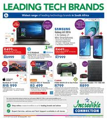 Incredible Connection : Leading Tech Brands (23 Feb - 26 Feb 2017), page 1