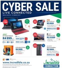 Incredible Connection : Cyber Sale (23 Mar - 26 Mar 2017), page 1