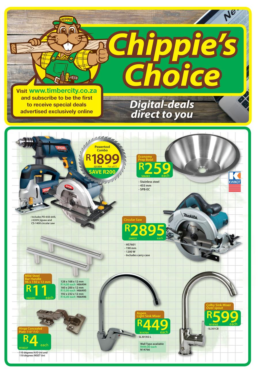 Timbercity : Digital Deals Direct To You (25 Jul - 6 Aug 2016)