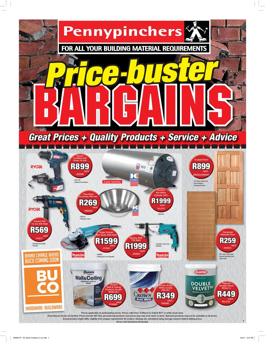 Pennypinchers : Price-Buster Bargains (15 Mar - 8 Apr 2017)