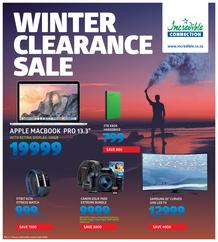 Incredible Connection : Winter Clearance Sale (24 July - 30 July 2017), page 1