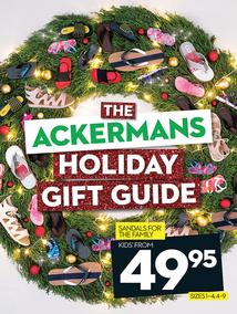 Ackermans : Holiday Gift Guide (24 Nov - 7 Dec 2016), page 1