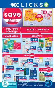 Clicks : Pay Day Savings (25 Apr - 23 May 2017), page 1