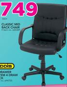 Classic Mid Back Chair