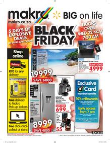 Makro : Black Friday General (22 Nov - 26 Nov 2017), page 1