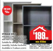 Storage Shelf 400x290x53mm-Each