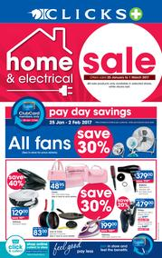 Clicks : Home And Electronic (25 Jan - 1 Mar 2017), page 1