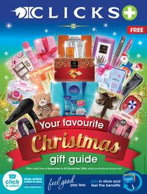 Clicks : Your Favourite Christmas Gift Guide (4 Nov - 24 Dec 2016), page 1